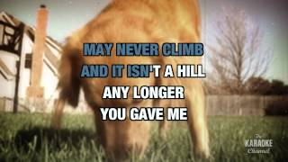 You Gave Me A Mountain in the style of Gene Watson | Karaoke with Lyrics