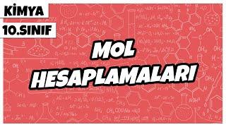 10. Sınıf Kimya - Mol Hesaplamaları  2021