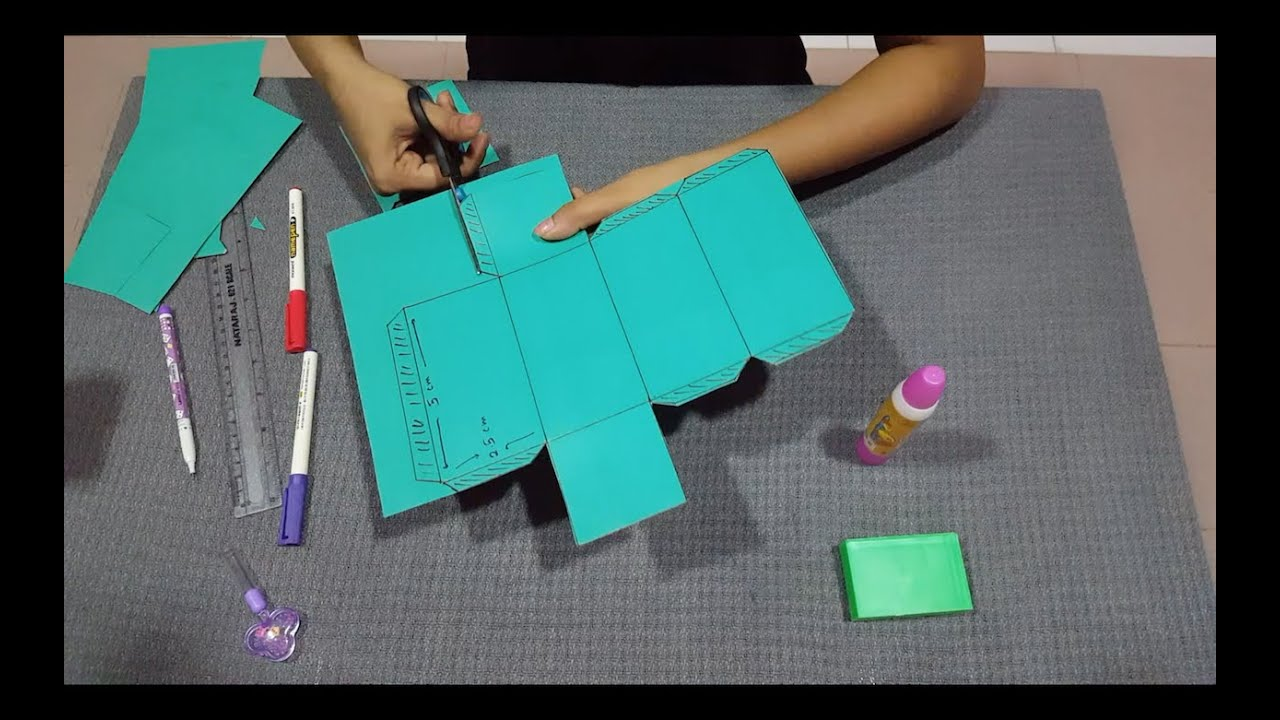 How to make a 3d cuboid rectangular prism youtube for Make 3d design online