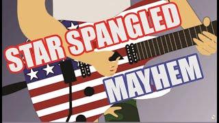 Star Spangled Banner Mayhem Rock Guitar Solo Anima