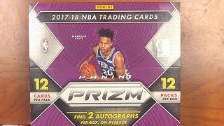 2017 Panini NBA Prizm First Off The Line