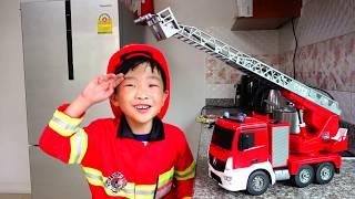 불이나면 소방차 불러주세요! 긴급출동 소방차 자동차 장난감 놀이 Fire Truck Vehicle Video for Kids