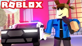 BECOMING A COP IN ROBLOX! (Roblox Jailbreak)
