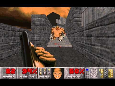 Doom 2 Suspended in Dusk: Map03