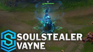 Soulstealer Vayne Skin Spotlight - Pre-Release - League of Legends