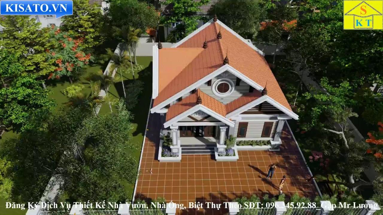 Mẫu Nhà Cấp 4 Đẹp Diện Tích 140m2 Tại Bắc Giang
