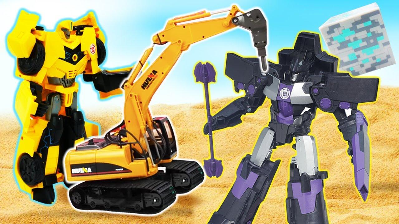 Новые игры для мальчиков - Роботы Трансформеры и ...