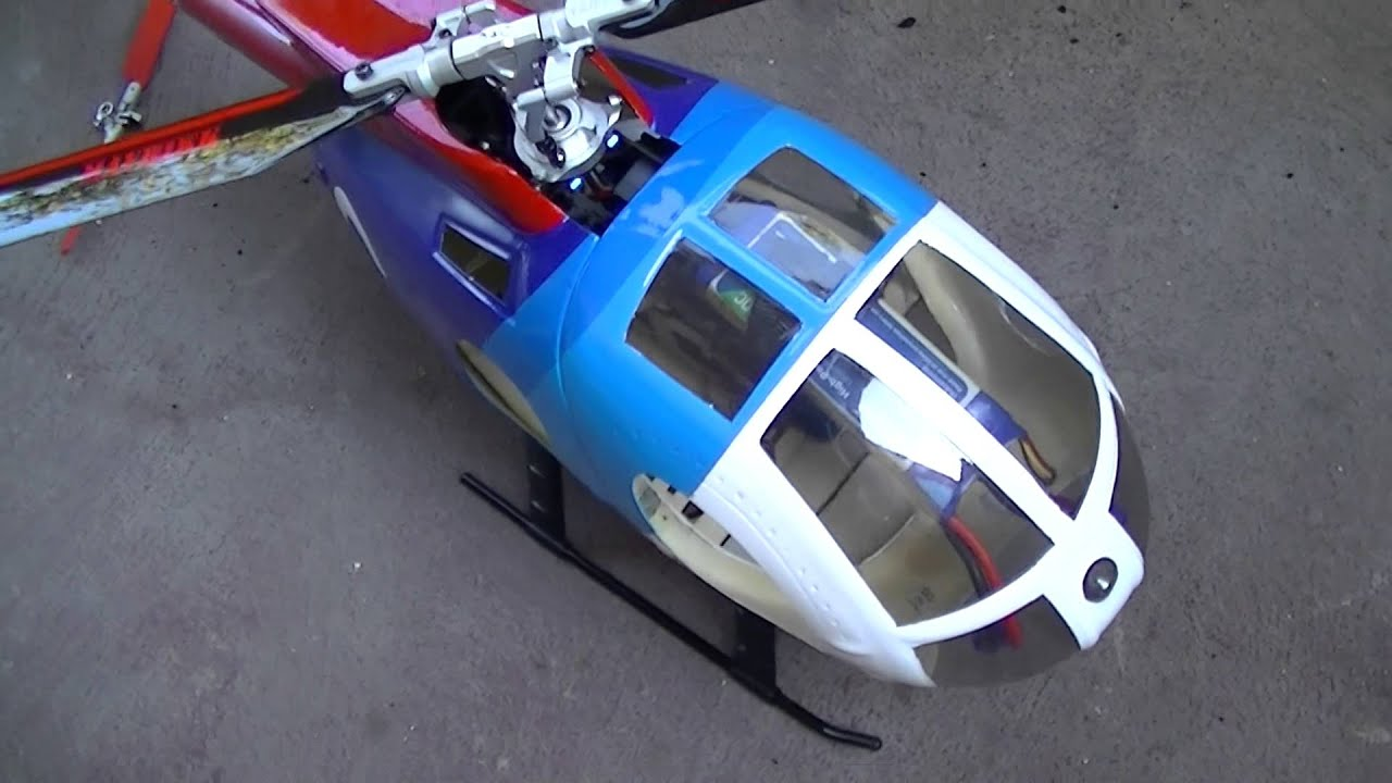600 Size Airwolf Rc Helicopter - Exploring Mars