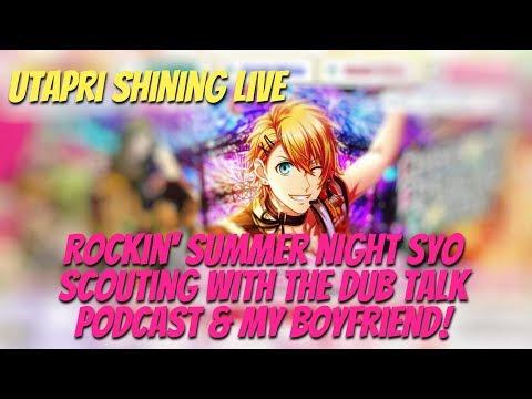 Rock Syo Scouting W/Dub Talk And My Boyfriend! | Utapri Shining Live