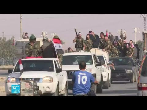 الجيش السوري يستعيد السيطرة على منبج وعين عيسى وتل تمر  - نشر قبل 23 دقيقة