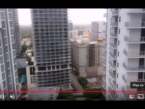 Hurricane Irma in Brickell (South Miami Ave)