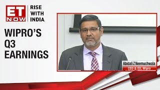 Wipro's Q3 revenue in-line with estimates | Earnings With ET Now