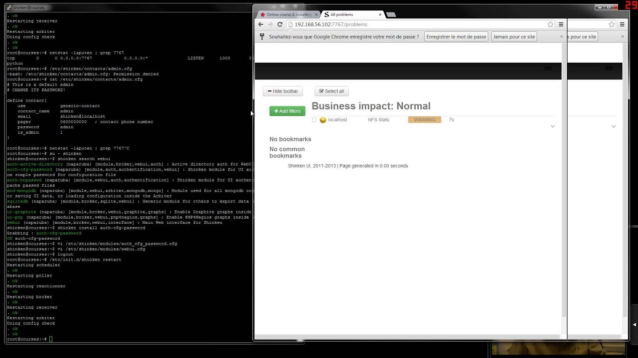Online course 2: installing WebUI / Some monitoring guys