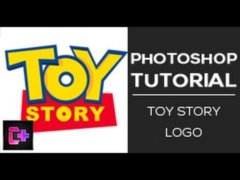 Recreating the Toy Story movie logo ( Photoshop tutorial )