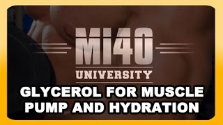 Glycerol Supplement, Muscle Pump, Muscles Swelling Supplementation (BONUS UNLISTED VIDEO)