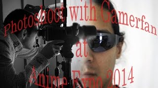 Cosplay Photoshoot Tutorial with Gamerfan at Anime Expo 2014