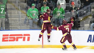 5OT Game-winner Ends Historic NCAA Hockey Classic