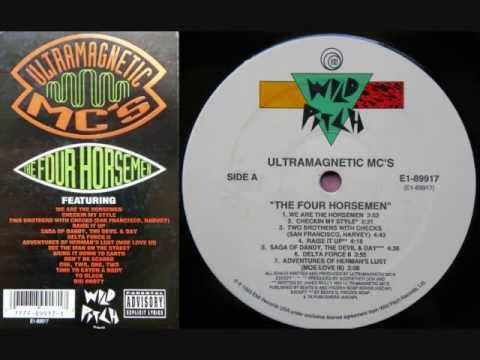 Ultramagnetic MC's - The Four Horsemen [FULL Album] - 1993