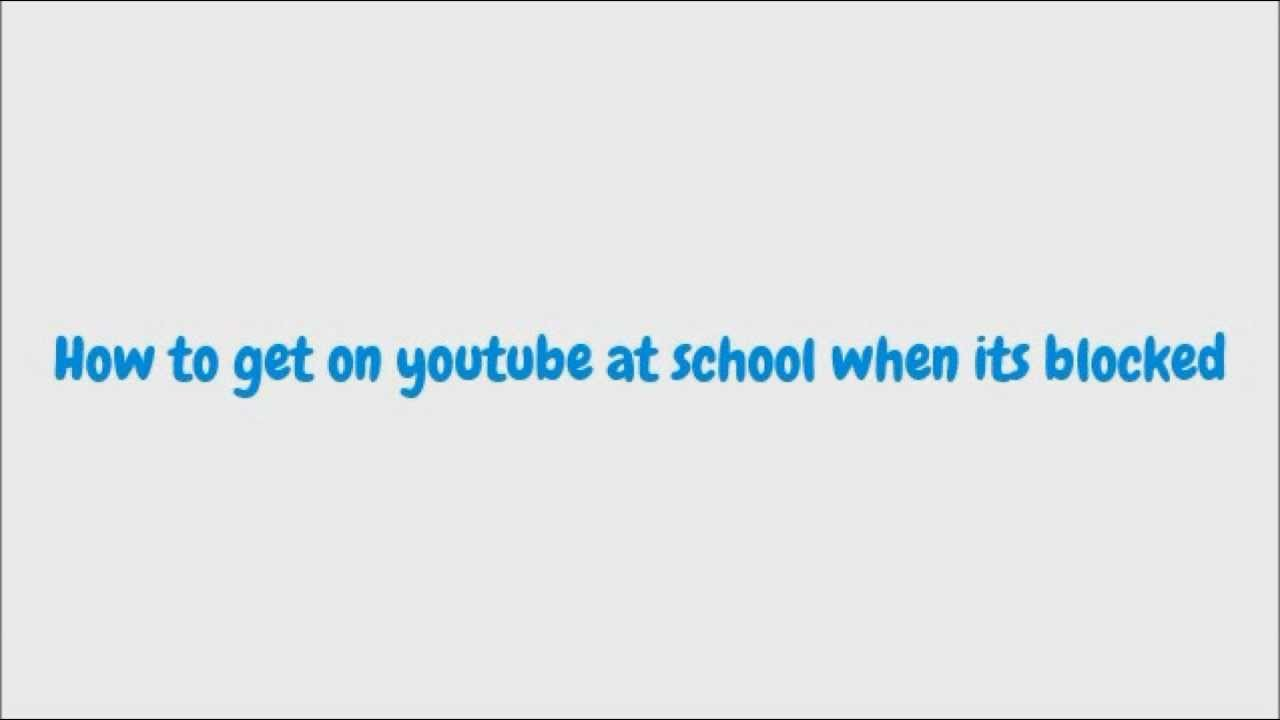 block youtube videos