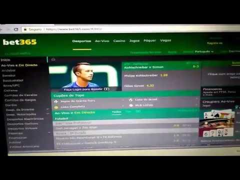 Como fazer apostas esportivas online