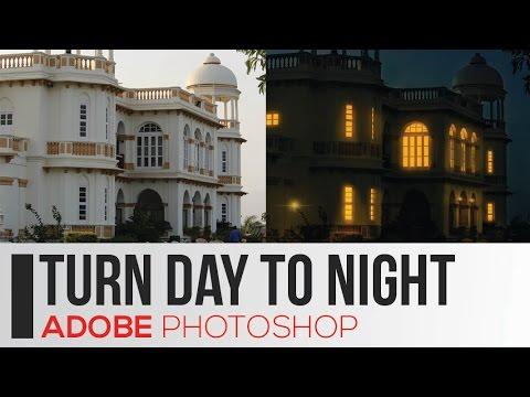 DAY tO NIGHT|PHOTOSHOP| Tutorial