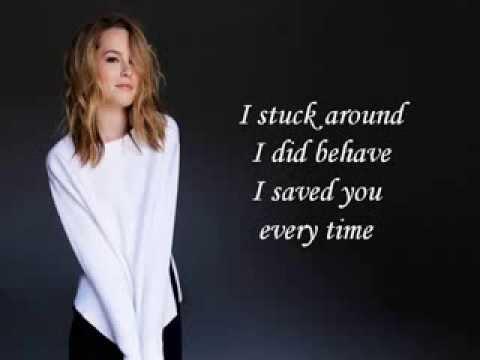 Bridgit Mendler - I Was A Fool (Acoustic Version) (Lyrics On Screen)