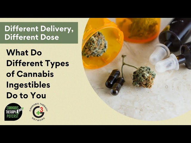 How Do Different Types of Cannabis Ingestibles Affect You?