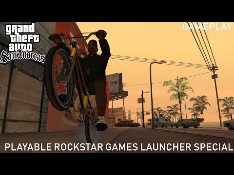 Special Gta San Andreas Playable Via Rockstar Games Launcher