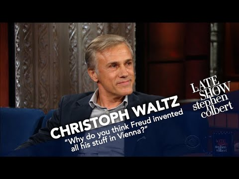 Christoph Waltz And Stephen Were Both Altar Boys
