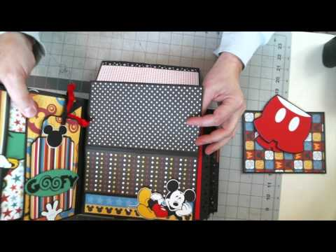 Disney Scrapbook 8 x 8 Interactive Album (Tutorial is now available to purchase)