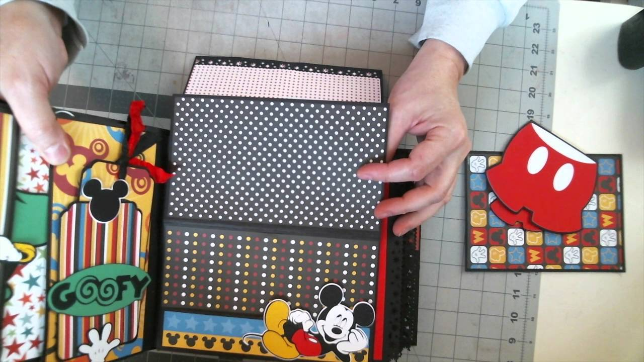Disney Scrapbook 8 X Interactive Album Tutorial Is Now Available To Purchase