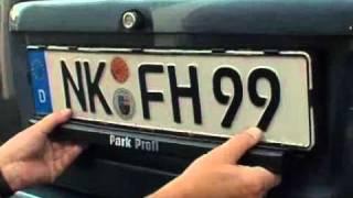 Parkassistent für Youngtimer und Oldtimer keine Veränderung der Fahrzeugoptik