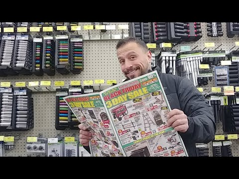 Black Friday Tool Deals At Harbor Freight 2018