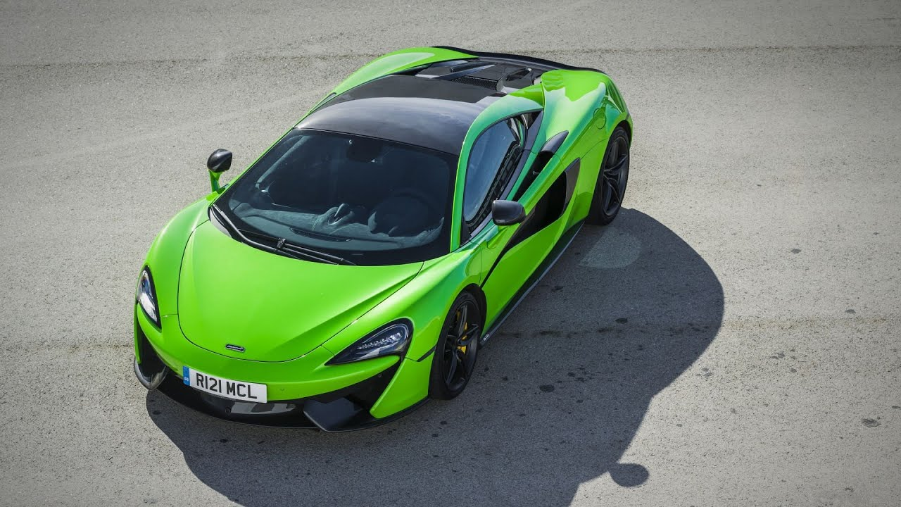 2016 Mclaren 570s Coupe 570 Ps Mantis Green Interior And