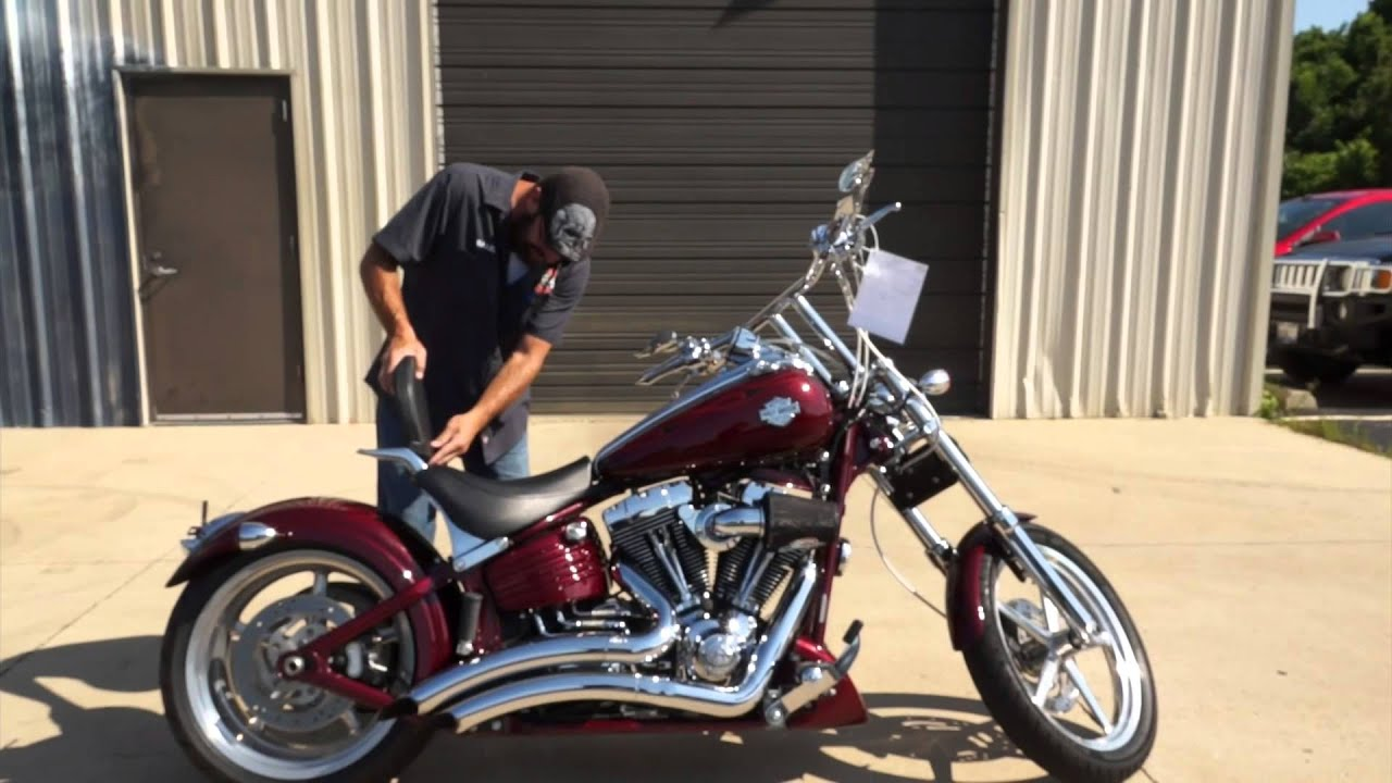 2008 Harley-Davidson Rocker C FXCWC! A chopper you can live with ...