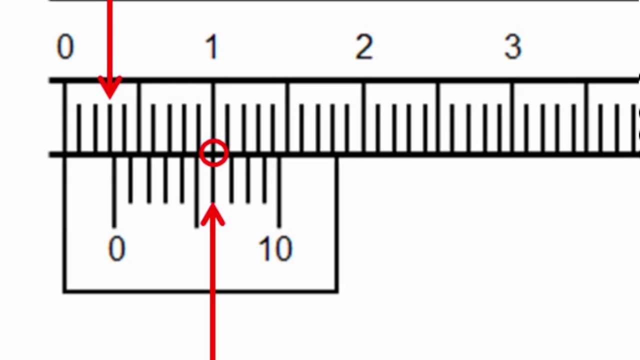 hight resolution of how to read a pair of vernier calipers