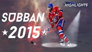 P.K.  Subban Highlights ★2015★