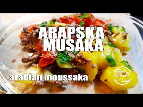 RECEPT: Arapska musaka / Arabian moussaka