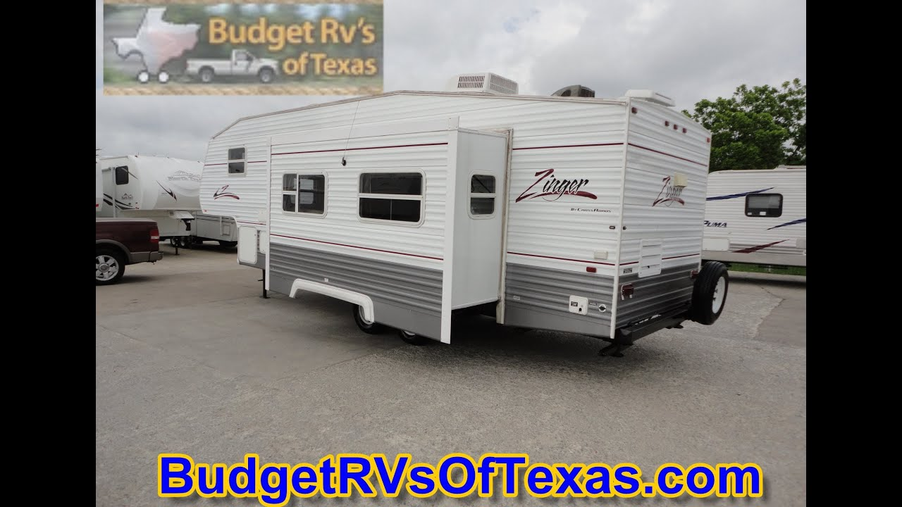 2006 5th Wheel Zinger- Perfect For Family camping Trips!