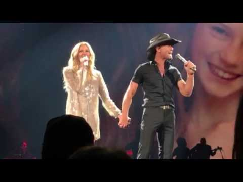 Tim McGraw and Faith Hill Its Your Love  in Spokane