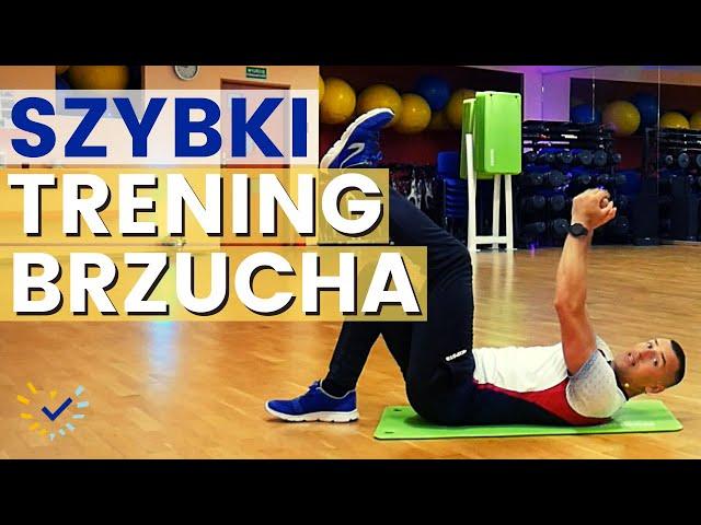 Skuteczny Trening Brzucha w domu - ćwiczenia na brzuch i boczki dla początkujących
