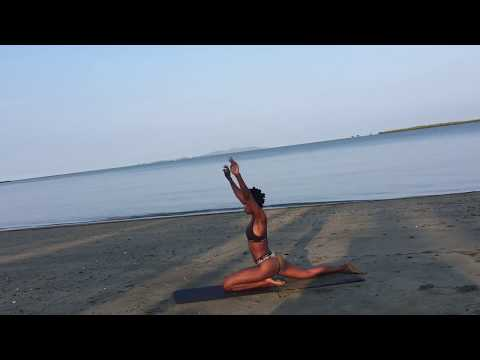 TONED LEGS, BUTT & FIRM THIGHS/ BIKINI BODY WORKOUT/ FIJI TRIP/ TRAVEL- FITNESS VLOG