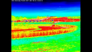 AXIS Bootcamp Poland 2017 - stream from Q1942-E thermal camera