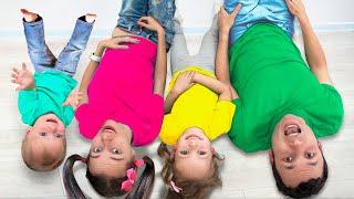 Детская песня - Какой цвет +Другие Песни для детей от Майи и Маши
