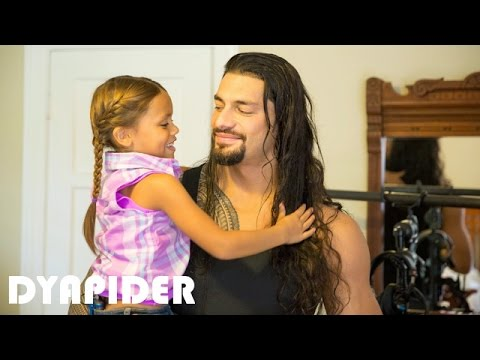 Roman Reigns's Daughter - 2017 [ Joelle Anoa'i ]