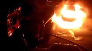 Пожар в Рени и перестрелка в Орловке
