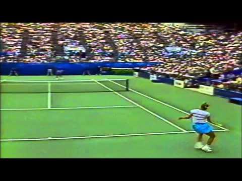 Chris Evert vs Zina Garrison, 1989 US Open quarterfinals