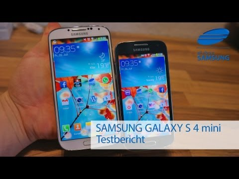 Samsung Galaxy S4 mini Review Test Deutsch HD