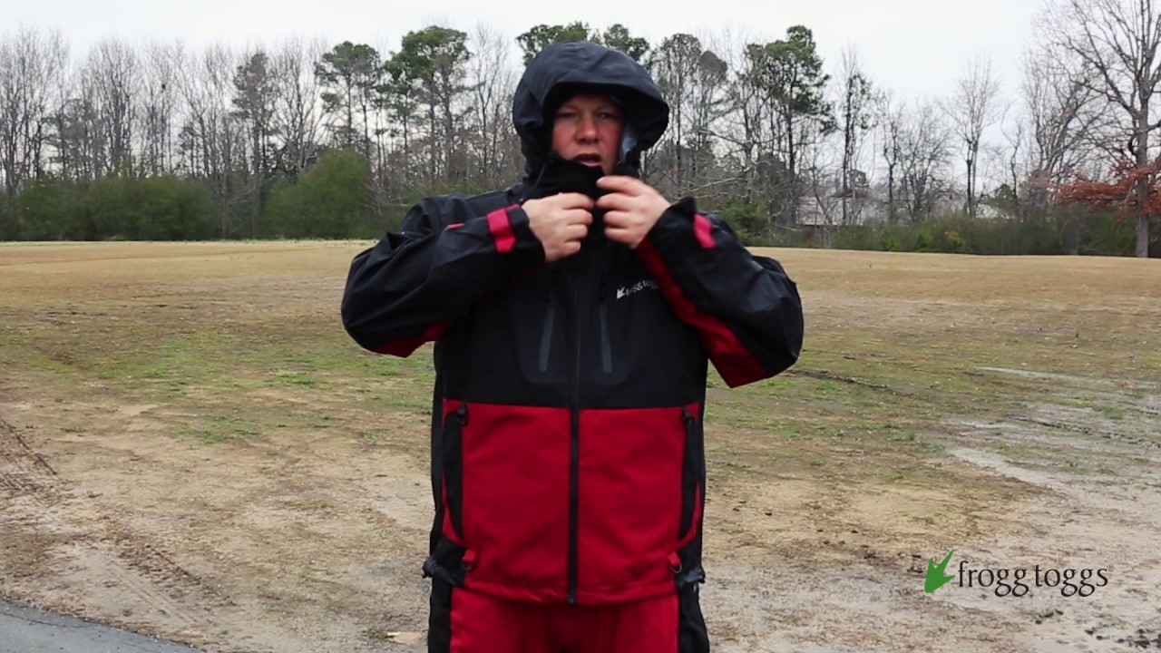 8c11980a84da8 frogg toggs® Pilot II™ Guide Jacket System is WATERPROOF - YouTube