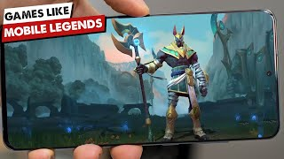 Games like Mobile Lęgends Android | Best MOBA Games for Mobile